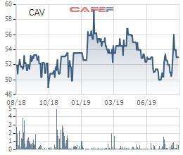 Lãi 242 tỷ đồng nửa đầu năm, Cadivi (CAV) chuẩn bị chi trả cổ tức bằng tiền mặt tỷ lệ 25% - Ảnh 1.