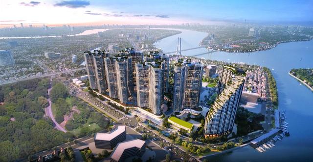 Ăn theo hàng loạt dự án hạ tầng lớn, giá nhà đất khu Nam Sài Gòn liên tục tăng mạnh - Ảnh 2.