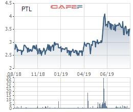 Cổ phiếu tăng 20% kể từ đầu năm, lãnh đạo Petroland vẫn kiên trì mua thêm 5 triệu cổ phiếu PTL - Ảnh 1.