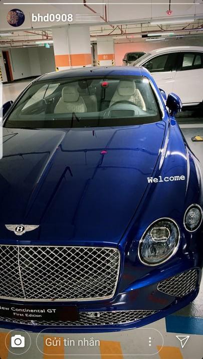 Bentley Continental GT First Edition hàng độc Việt Nam về tay bạn trai tin đồn của HH Đỗ Mỹ Linh nhưng bộ sưu tập xe hiện tại còn gây choáng hơn - Ảnh 1.