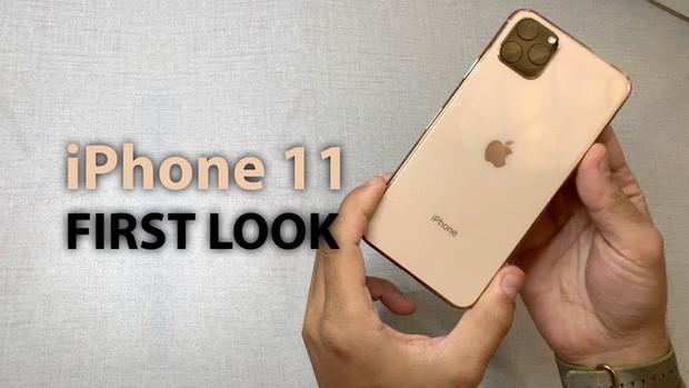 Xuất hiện video trên tay iPhone 11 và iPhone 11 Pro, chưa chính thức nhưng vẫn hút view ầm ầm - Ảnh 1.
