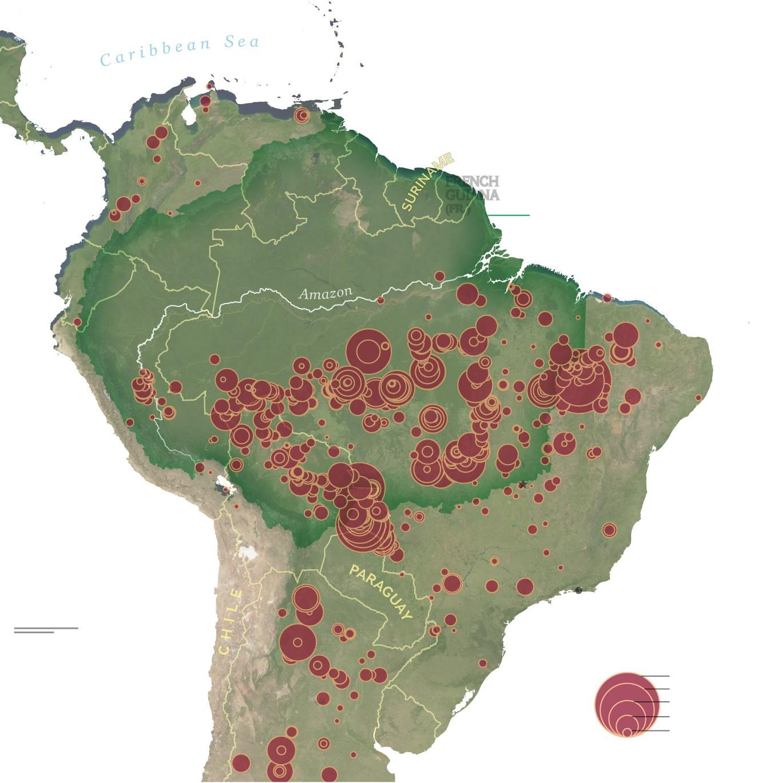 Cuộc sống đảo lộn của người dân nơi rừng Amazon bị tàn phá
