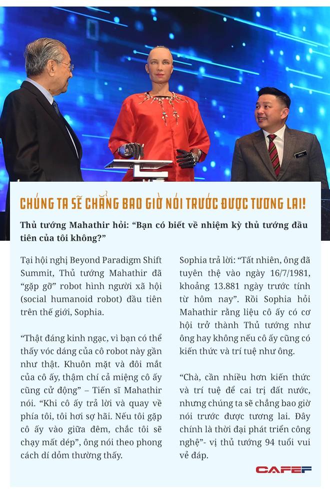 Tầm nhìn 4.0 của vị Thủ tướng huyền thoại 94 tuổi đang thăm chính thức Việt Nam - Ảnh 9.