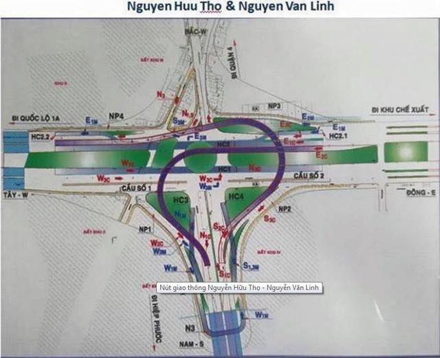 Cuối năm sẽ khởi công xây dựng nút giao thông hầm chui 3 tầng 830 tỷ đồng ở Quận 7 - Ảnh 1.