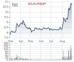Cổ phiếu lập đỉnh, Becamex TDC chốt quyền trả cổ tức bằng tiền tỷ lệ 12% - Ảnh 1.