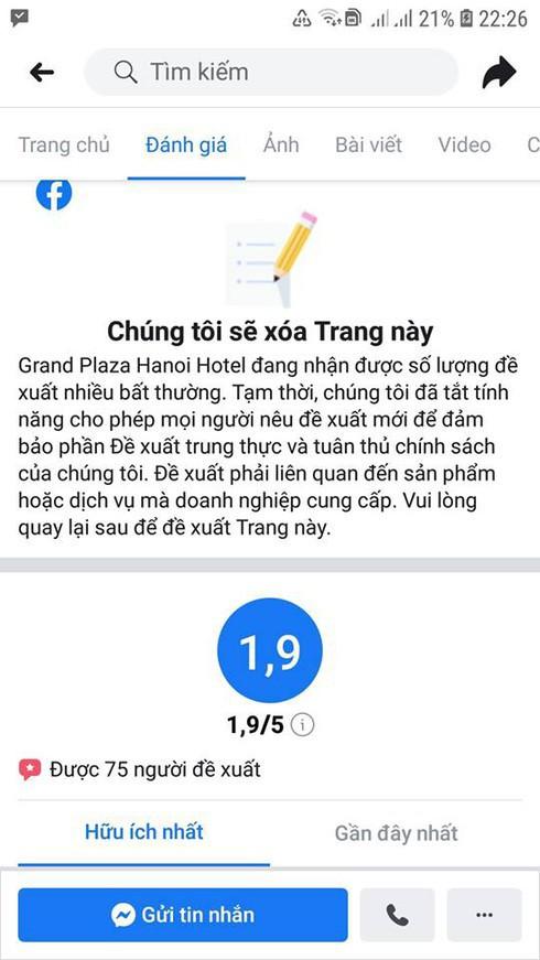 Khách sạn 5 sao tại Hà Nội có nhân viên đuổi người trú mưa nhận bão 1 sao từ cộng đồng mạng - Ảnh 4.