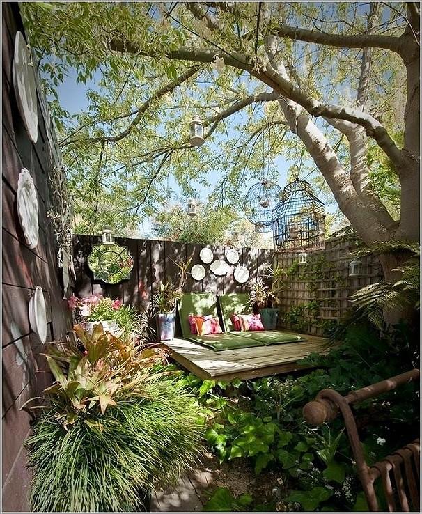 Biến sân sau nhà phố thành góc vườn, khu ăn uống đẹp lung linh - Ảnh 1.