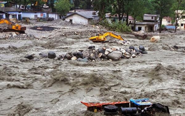 Lũ lụt nghiêm trọng tại Trung Quốc làm 9 người thiệt mạng - Ảnh 1.
