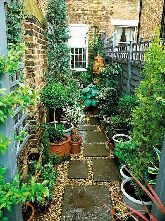 Một không gian xanh mát sẽ cung cấp không khí trong lành cho gia đình.