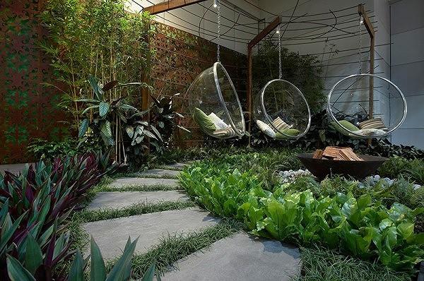 Biến sân sau nhà phố thành góc vườn, khu ăn uống đẹp lung linh - Ảnh 8.