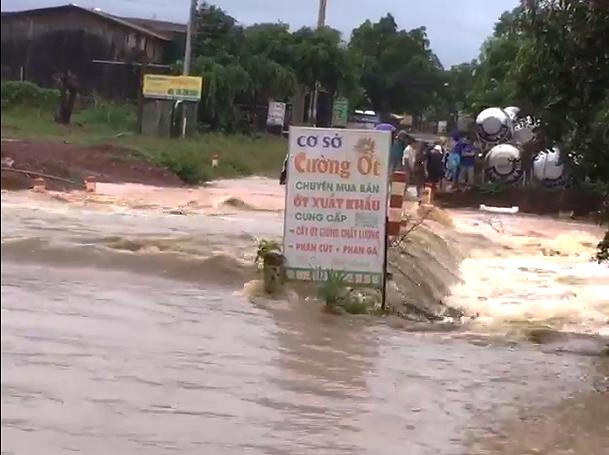 Mưa lớn kéo dài, Đắk Lắk ngập lụt diện rộng - Ảnh 3.