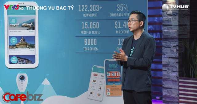 Tự tin sẽ trở thành ứng dụng blockchain du lịch lớn nhất thế giới, startup này vừa lên Shark Tank gọi được 500.000 USD, vừa tuyển được shark Việt về làm nhân viên trong 1 năm - Ảnh 1.