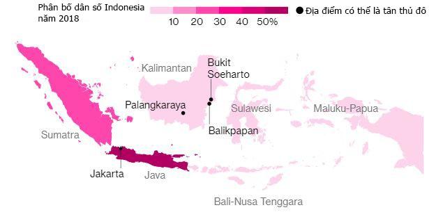Đằng sau quyết định dời đô của Indonesia - Ảnh 2.