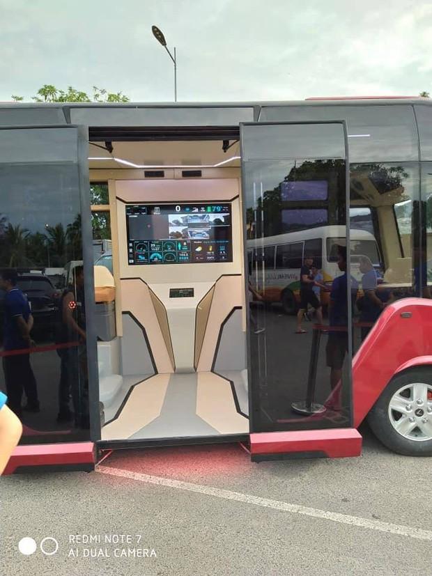 Xuất hiện hình ảnh được cho là chiếc xe buýt của VinFast với thiết kế đến từ tương lai - Ảnh 3.