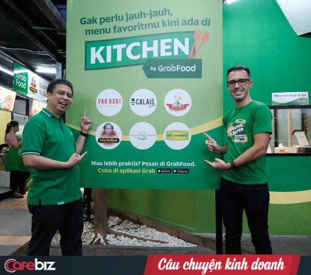 Mảng Food quá nóng, Grab thử nghiệm thêm GrabKitchen, tặng không địa điểm nhằm quy tụ những hàng quán đắt sô, phục vụ trực tiếp cư dân quanh vùng - Ảnh 1.
