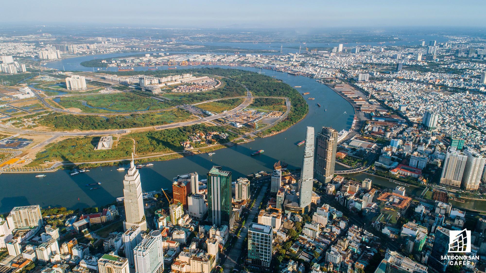Diện mạo hai bờ sông Sài Gòn tương lai nhìn từ loạt siêu dự án tỷ đô, khu vực trung tâm giá nhà lên hơn 1 tỷ đồng/m2 - Ảnh 3.
