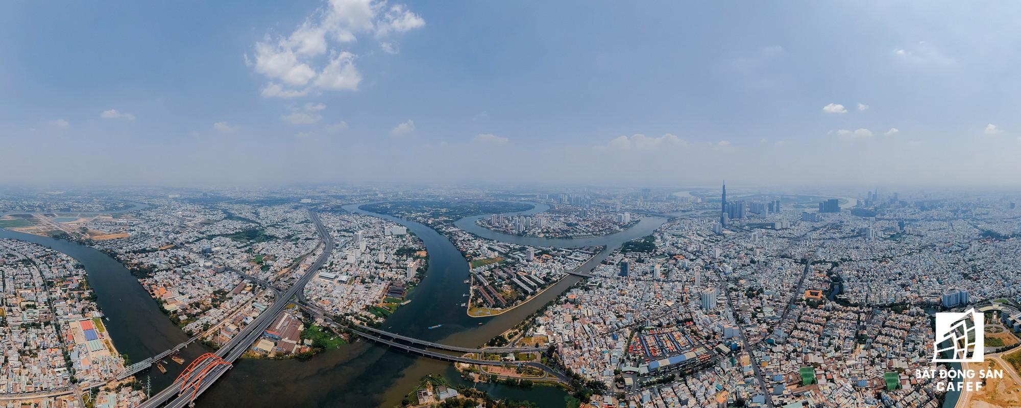 Diện mạo hai bờ sông Sài Gòn tương lai nhìn từ loạt siêu dự án tỷ đô, khu vực trung tâm giá nhà lên hơn 1 tỷ đồng/m2 - Ảnh 26.