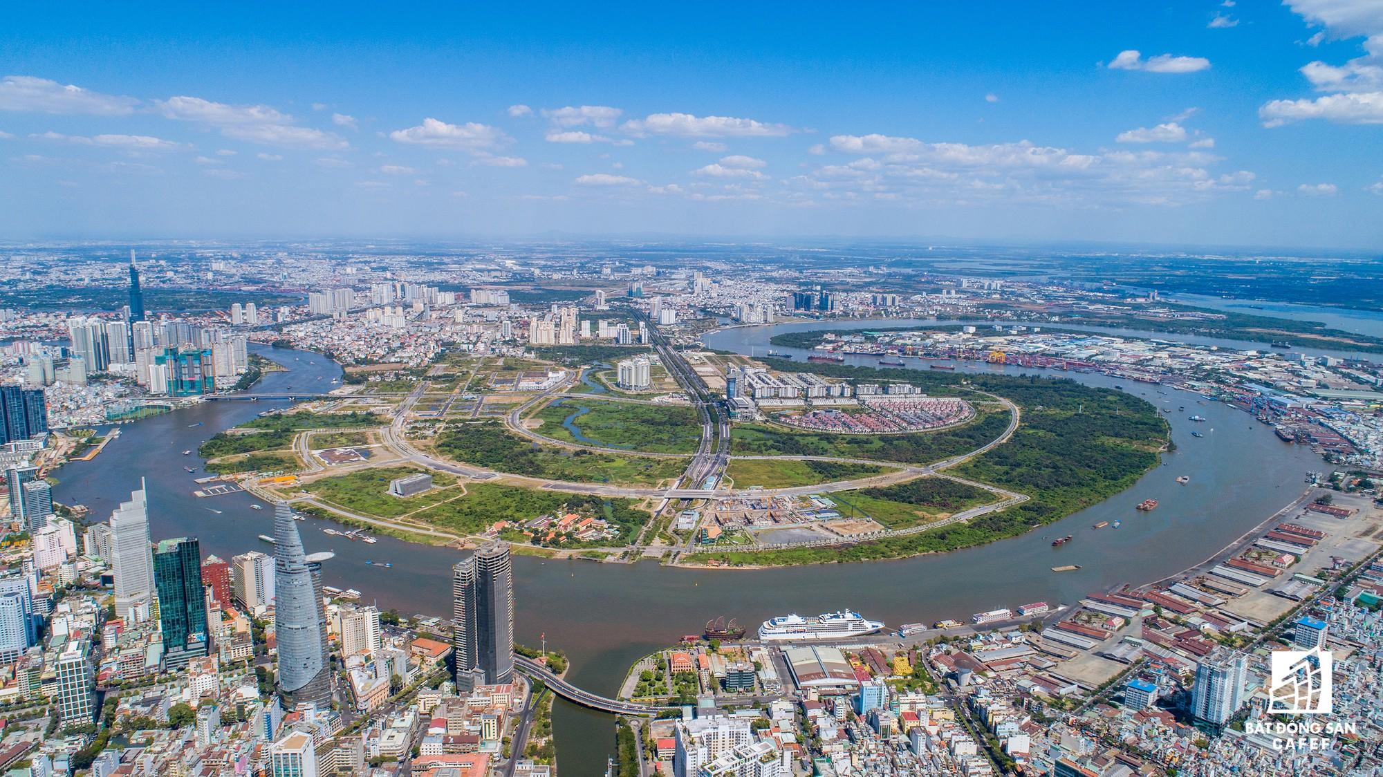Diện mạo hai bờ sông Sài Gòn tương lai nhìn từ loạt siêu dự án tỷ đô, khu vực trung tâm giá nhà lên hơn 1 tỷ đồng/m2 - Ảnh 2.