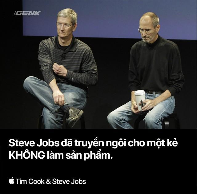 Steve Jobs thực sự đã truyền ngôi cho kẻ thuộc nhóm người mình khinh ghét nhất - Ảnh 1.