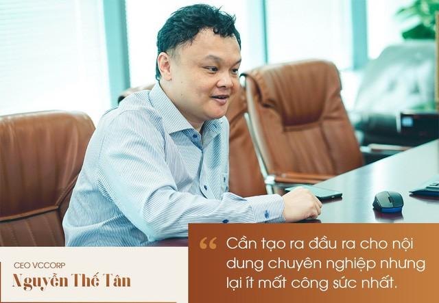 CEO Nguyễn Thế Tân : Mạng xã hội Lotus là cuộc đua tất tay của VCCorp - Ảnh 4.