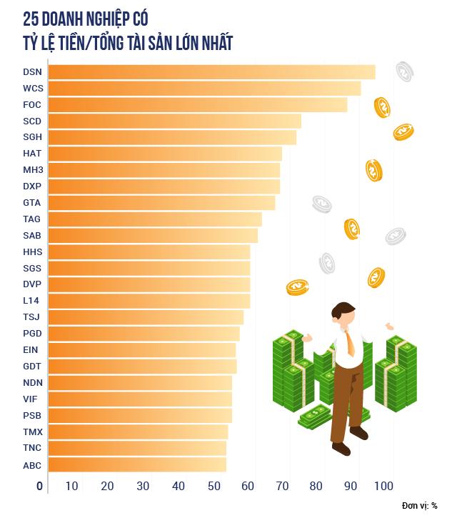 Những doanh nghiệp tiền nhiều không biết để làm gì trên thị trường chứng khoán - Ảnh 2.