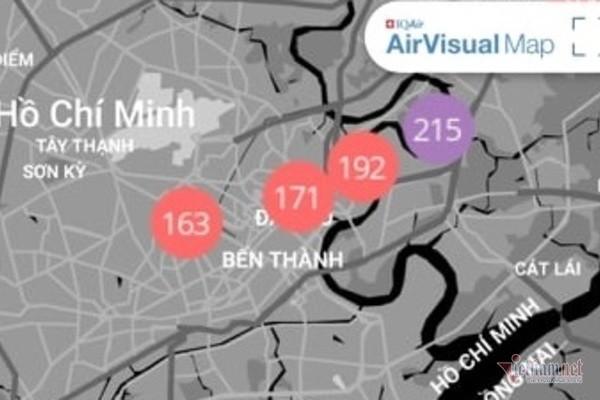 Sương mù ở Sài Gòn có thể do ô nhiễm không khí nặng - Ảnh 3.