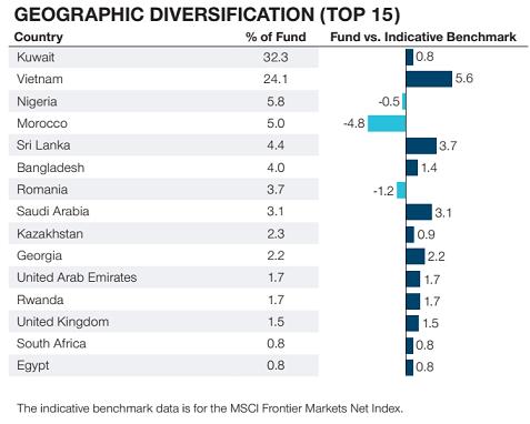 Dòng tiền Frontier Markets đang đổ mạnh vào Việt Nam, nhiều quỹ đã nâng tỷ trọng cổ phiếu vượt chuẩn benchmark - Ảnh 2.