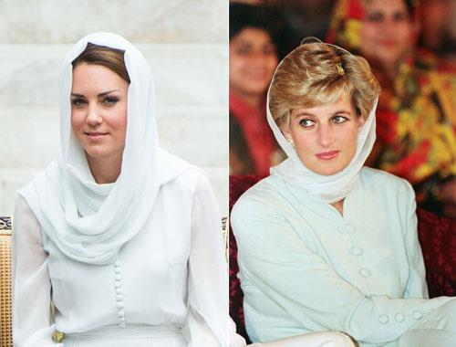 Meghan Markle bị chê kém tinh tế, thua xa chị dâu Kate khi lần đầu tiên đội khăn trùm đầu theo kiểu Hồi giáo - Ảnh 8.