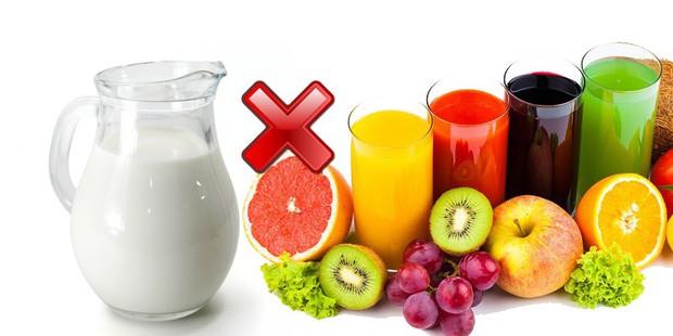 Những loại thực phẩm không thể ăn chung với nhau vì dễ gây ngộ độc, tiêu chảy - Ảnh 1.