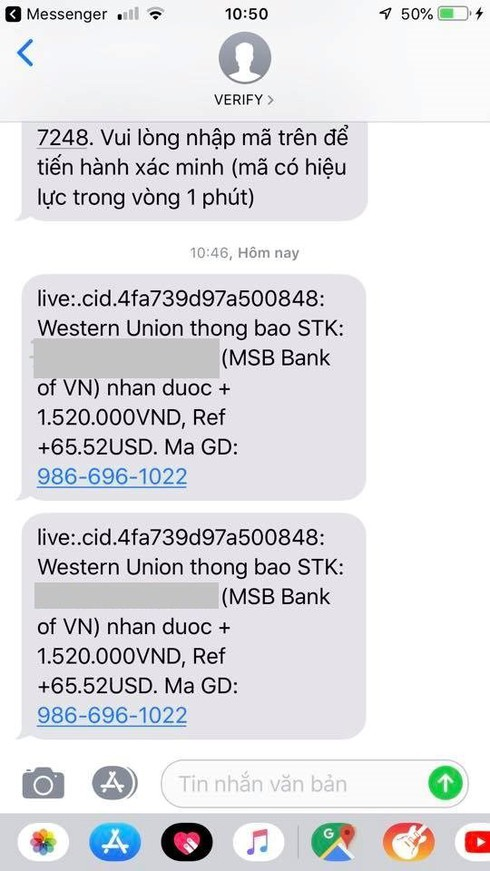 Tội phạm ngân hàng: Mạo danh Western Union lừa đảo nhà bán hàng online - Ảnh 2.