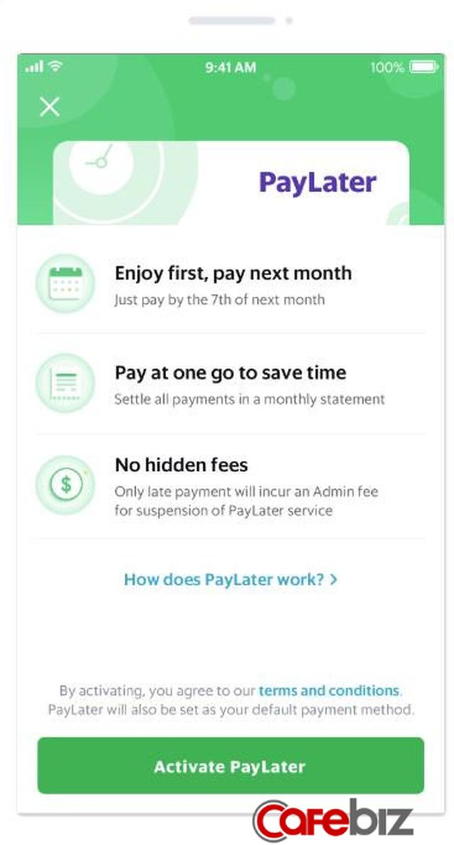 Grab tung chức năng mới Tiêu trước, trả sau, cho phép khách hàng chi tiêu thoải mái đến cuối tháng mới phải trả tiền - Ảnh 1.