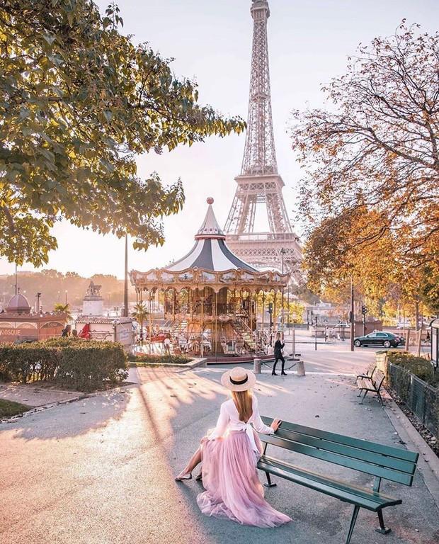 Những địa điểm được check-in nhiều nhất trên Instagram: Tháp Eiffel dẫn đầu với gần 6 triệu hashtag - a2