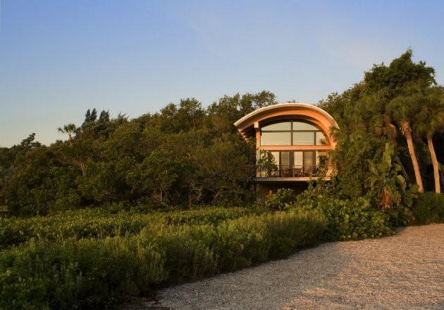 Ngôi nhà lơ lửng giữa rừng cây có view nhìn ra hồ tuyệt đẹp - Ảnh 8.