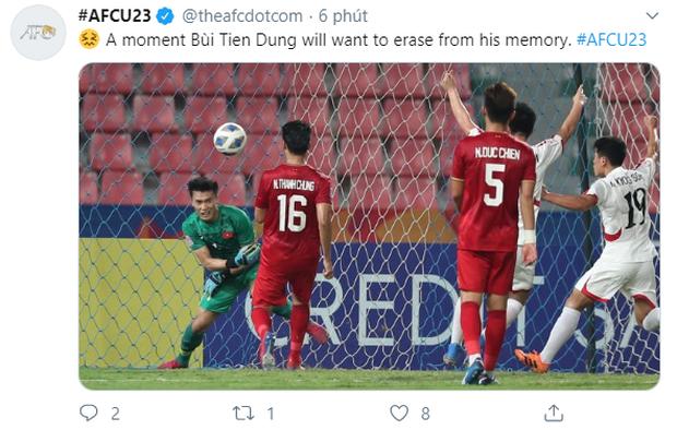 Dân mạng chế ảnh sai lầm của Bùi Tiến Dũng, còn AFC giật tweet nói: Đây là một ký ức mà anh ấy muốn xóa bỏ mãi mãi - Ảnh 1.