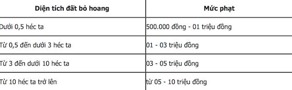 5 mức phạt mới về vi phạm đất đai bắt đầu có hiệu lực - Ảnh 2.