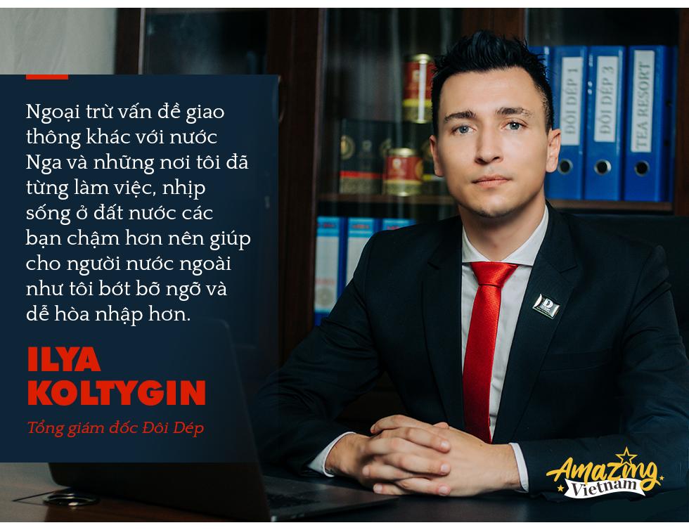 """CEO Đôi Dép Ilya Koltygin: Tôi ấn tượng nhất về Tết của người Việt là Tục đoàn viên, là """"không thể thiếu nhau"""" - Ảnh 5."""
