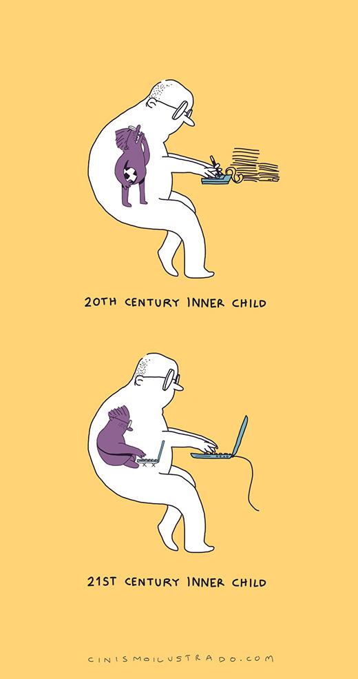 Dở khóc dở cười với hiện thực cuộc sống phũ phàng ẩn giấu trong tranh biếm họa của Eduardo Salles - Ảnh 14.