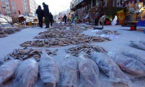 Thành phố lạnh lẽo nhất thế giới: Âm 64 độ, ngoài chợ chỉ bán 1 loại thực phẩm duy nhất - Ảnh 4.