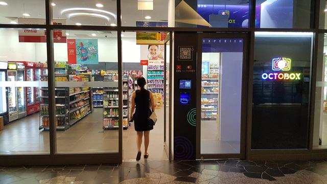 Mô hình cửa hàng tiện lợi không nhân viên ở Singapore - Ảnh 1.