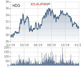 Tập đoàn Hà Đô (HDG) lên kế hoạch lãi ròng 2020 đạt 1.150 tỷ đồng, tăng 21% ước thực hiện 2019 - Ảnh 1.