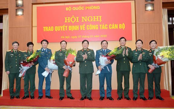 5 tướng lĩnh quân đội nhận nhiệm vụ mới - Ảnh 4.