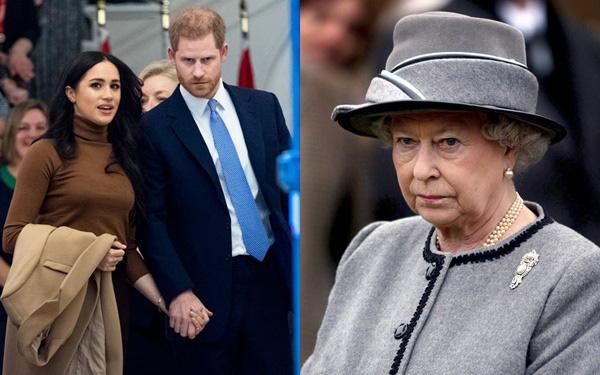 Rạn nứt hoàng gia: Nữ hoàng Anh giận dữ và thất vọng, đưa ra thông báo quan trọng trước quyết định đột ngột của vợ chồng Meghan Markle - Ảnh 1.