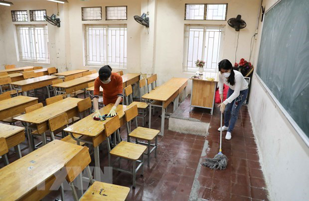 Phải đảm bảo an toàn, sức khỏe cho học sinh khi đi học trở lại - Ảnh 1.
