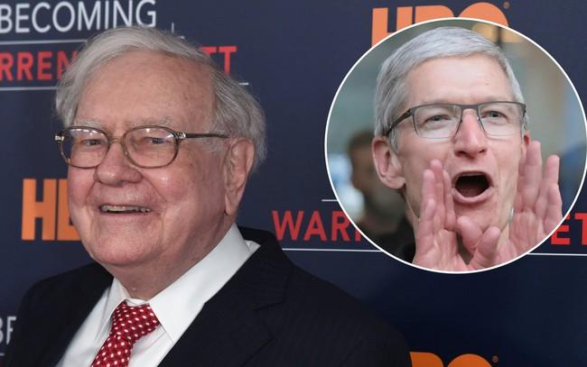 """Warren Buffett vừa chia tay cổ phiếu """"con cưng"""" đã nắm giữ hơn 40 năm, tiếp tục mua vào cổ phiếu Apple"""
