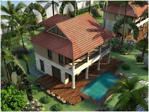 ruby Tổng quan và quy mô khu biệt thự Furama Villas