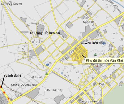 Khu đô thị mới Văn Khê (2)