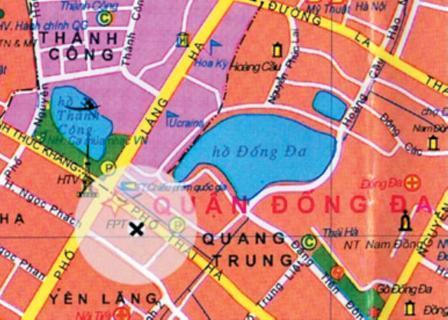 a86map Tổng quan và quy mô Song Hong Park View (Thanh Cong II Building)