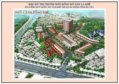 Khu đô thị Nam La Khê (1)