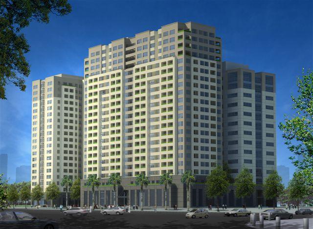 Tổ hợp trung tâm thương mại 102 Trường Chinh (1)