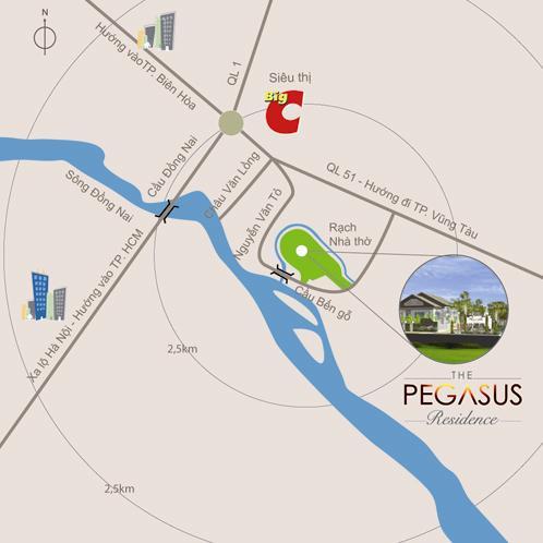 Làng biệt thự The Pegasus Residences (1)